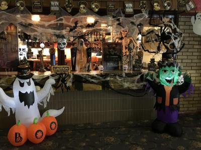 Main Hall at Halloween